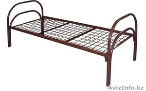 Кровати металлические с ДСП спинками для санаториев, кровати для больниц, опт. - Изображение #2, Объявление #1423111