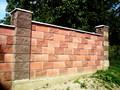 Строительство забора из кирпича и блока от УютСтройКараганда